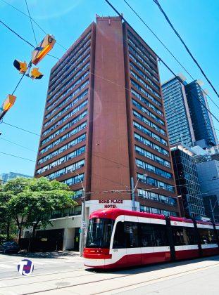 2021 - Bond Place Hotel Toronto at 65 Dundas St E (and Bond St)