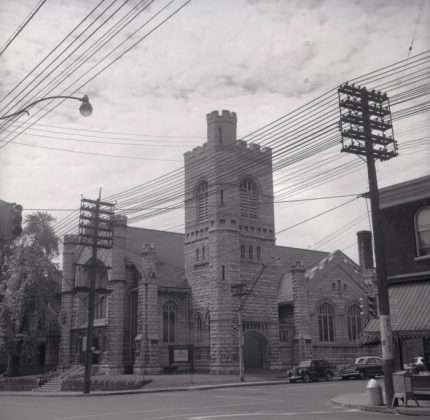 1956 - Church of the Messiah at 240 Avenue Rd (Toronto Public Library r-1896)