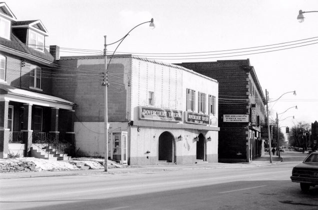 1980 - Dovercourt Tavern once at 767 Dovercourt Rd, north of Bloor St W (Courtesy Toronto Public Library)