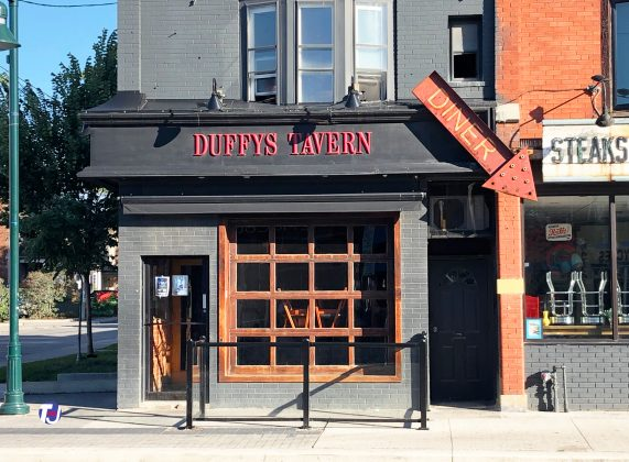 2019- Duffy's Tavern at 1238 Bloor St W