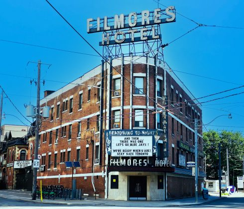 2021 - Filmores Hotel at 212 Dundas St E, at George St
