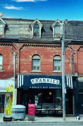 2020 - Frankie's at 994 Queen St W