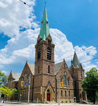 2020 - Grace Toronto Church at 383 Jarvis St (at Carlton St)