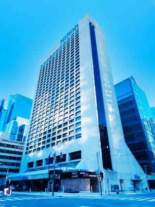 2021 - Hilton Toronto at 145 Richmond St W (and University Ave)
