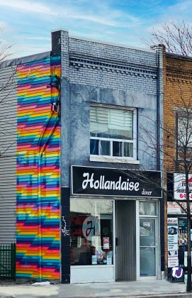 2019 - Hollandaise Diner at 2231 Danforth Ave - now closed