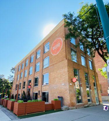 2020 - Hotel Ocho at 195 Spadina Ave, at Phoebe St