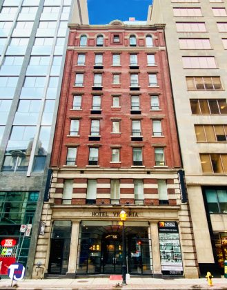 2020 - Hotel Victoria at 56 Yonge St, north of Wellington St