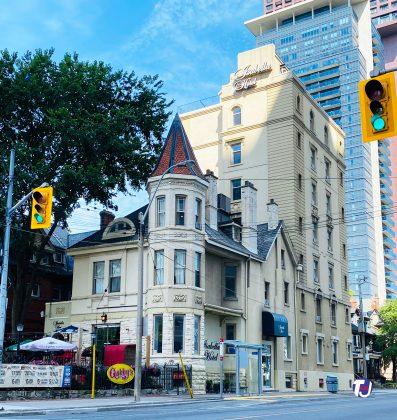 2020 - Isabella Hotel & Suites at 556 Sherbourne St, at Isabella St