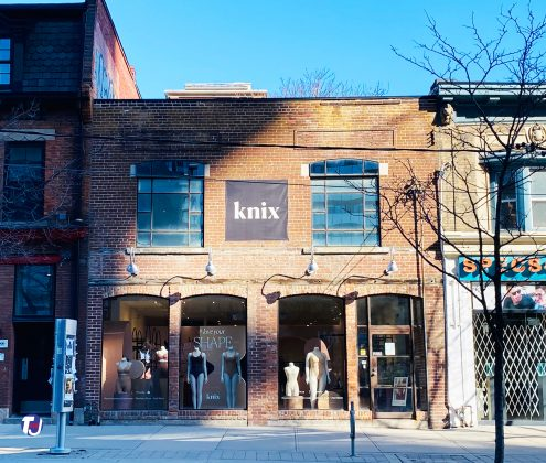 2021 - Knix Retail Store at 294 Queen St W
