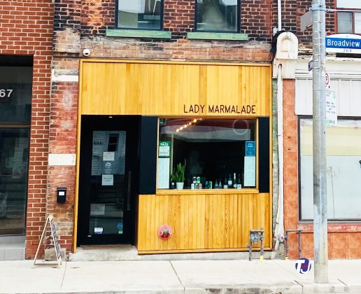 2021 - Lady Marmalade at 265 Broadview Ave