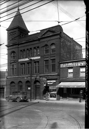1930 - Lennox Hotel once at 831 Yonge St, eastside south from present Church St
