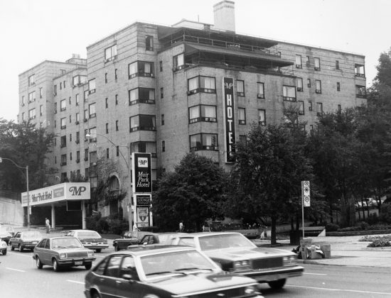 1981 - Muir Park Hotel once at 2900 Yonge St at Alexander Muir Rd, west side south of Lawrence Ave W - building no longer exists