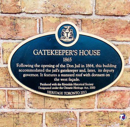 2021 - Gatekeeper's House heritage plaque