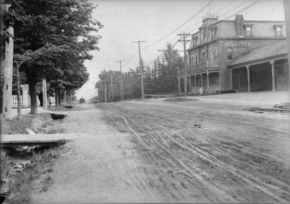 1908 - Oulcott's Hotel and later Postal Station K once at 2388 Yonge St, north of Eglinton Ave - building no longer exists
