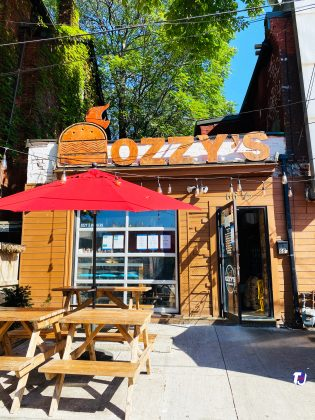 2020 - Ozzy's Burgers at 66 Nassau St