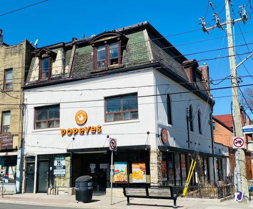 2021 - Parkdale Popeyes at 1402 Queen St