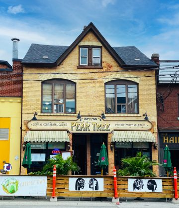 2020 - Peartree Restaurant at 507 Parliament St