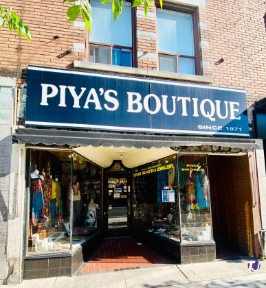 2020 - Piya's Boutique at 422 Bloor St W