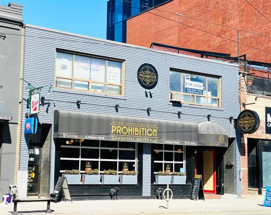 2021 - Prohibition at 696 Queen St E - now closed