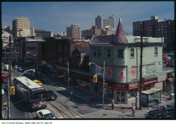 1987 - Public Optical once at 60 Queen E St