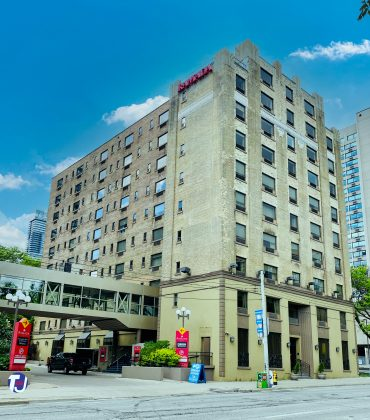 2020 - Ramada Plaza by Wyndham Toronto Downtown at 300 Jarvis St (south of Carlton St)