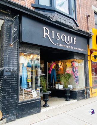 2020 - Risque Clothing at 660 Bloor St W