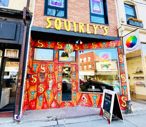 2019 - Squirly's Bar & Grill at 807 Queen St W