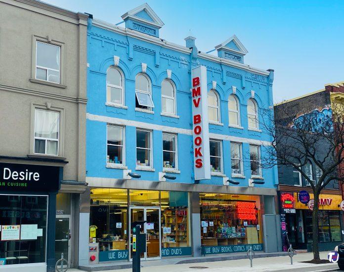 BMV Books at 471 Bloor St W in Toronto (2021)