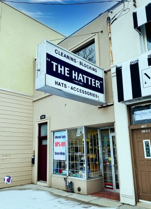 The Hatter at 1794 Avenue Rd - now closed