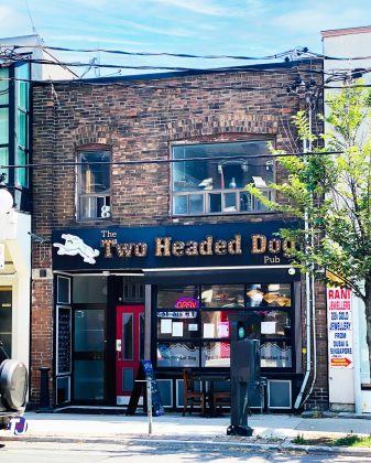 2020 - Two Headed Dog at 1469 Gerrard St E