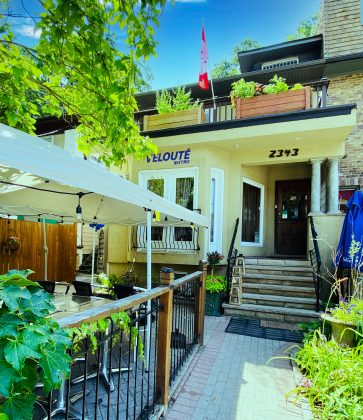 2020 - Veloute Bistro & Catering at 2343 Queen St E