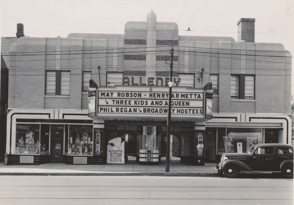 1936 - Allenby build in 1935 and later the Roxy once at 1213 Danforth Ave, south side east of Greenwood Ave - now Tim Hortons and Circle K