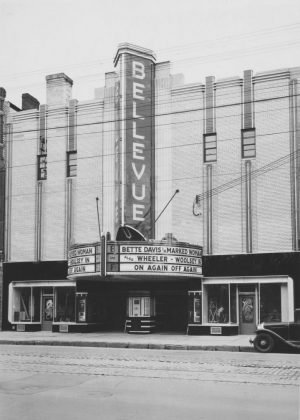 1937 - Bellevue Theatre later Lux Burlesque Theatre once at 360-362 College St, north side west of Brunswick Ave - opened from 1937 to 1958, building no longer exists