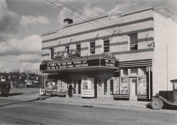 1935/37 - Cameo Theatre once at 989 Pape Ave at Floyd Ave, northeast corner - opened from 1934 to 1957