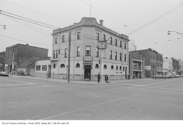 1972 - Canada House Tavern once at 229 Queen St E, at Sherbourne St