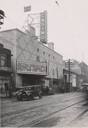 1935/37 - Casino Theatre, later the Civic Square/Festival Theatre once at 87-95 Queen St W, south side across from new City Hall - opened from 1936 to 1965, building no longer exists
