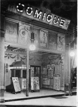 1910 - Comique Theatre near Yonge St and Dundas Sq - opened from 1908 to 1914