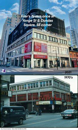 1970's - Friar's Tavern once at 279 Yonge St