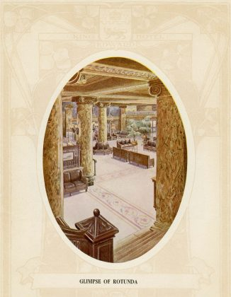 1903 - Sketch of The Rotunda from the King Edward Hotel brochure