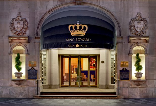 2010's - The main entrance of the King Edward Hotel on King St E (Omni Hotels)