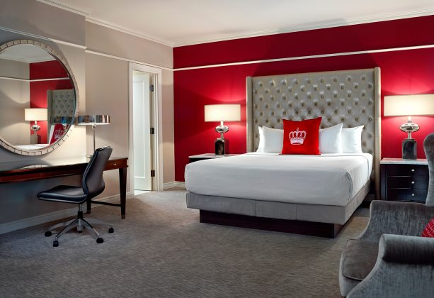 2010's - A guestroom at the King Edward Hotel (Omni Hotels)
