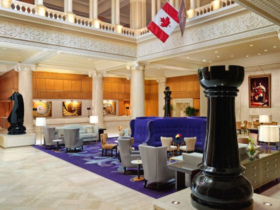 2010's - The lobby of the King Edward Hotel (Omni Hotels)