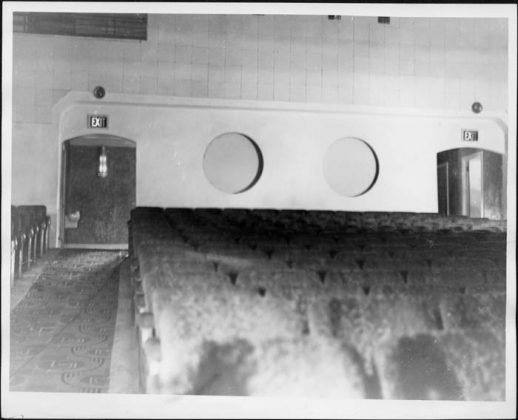Date unknown - The seating and exit of the Kingsway Theatre's auditorium