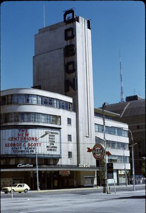 1972 - Odeon Carlton Theatre once at 20 Carlton St, north side east of Yonge St - building no longer exists