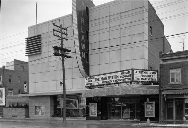 1949 - Odeon Fairlawn Theatre once at 3320 Yonge St, west side north of Fairlawn Ave - building no longer exists