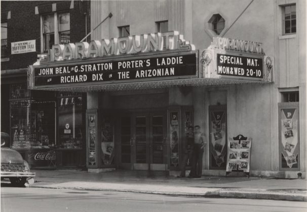 1935 - Paramount Theatre once at 1069 St. Clair Ave, between Lauder and Glenholme Aves on south side - opened from 1936 to around 1960