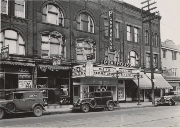 1936 - Playhouse Theatre, later Melody then Portuguese Melody Theatre once at 344 College St, east of Brunswick Ave on north side - opened around the 1930's, building no longer exists