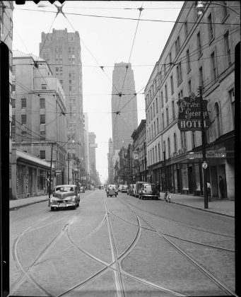 1940's - Prince George Hotel once at King St W and York St, southeast corner - formerly Rossin House built in 1856