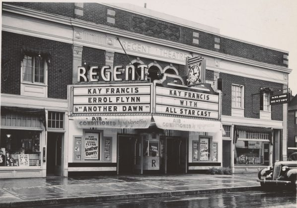 1937 - Regent Theatre once at 225 Queen St E, west of Sherbourne St on south side - building no longer exists