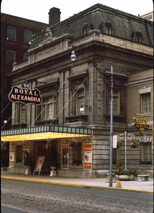 1964 - Royal Alexandra Theatre at 260 King St West, north side west of Simcoe St
